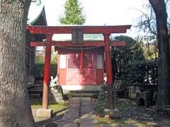 蓮沼氷川神社稲荷社