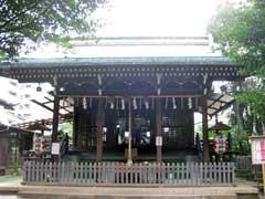 子易神社拝殿