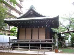子易神社神楽殿