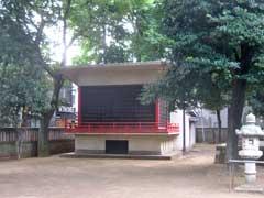 清水稲荷神社神楽殿