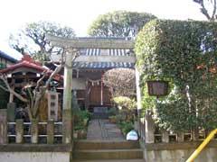 轡神社鳥居