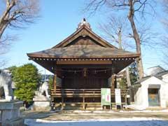 西台天祖神社神楽殿