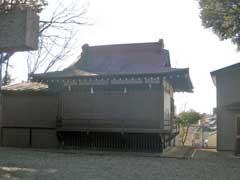 大谷口氷川神社神楽殿