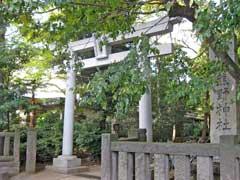 志村熊野神社鳥居