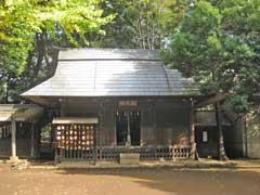 志村熊野神社絵馬堂