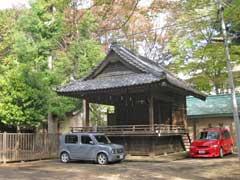 志村熊野神社神楽堂