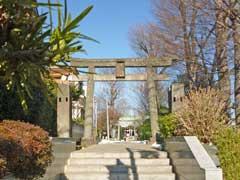 徳丸北野神社鳥居