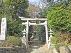 東新町氷川神社鳥居