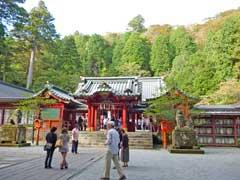 箱根神社拝殿