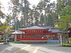 箱根神社神楽殿