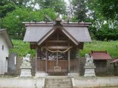 吉岡山王社社殿