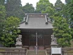 吉岡神明社社殿