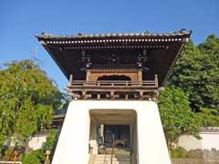 自徳院山門