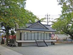境内社藤森稲荷と大鷲神社