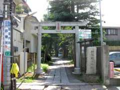蛭子神社参道