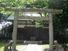 白旗神社社殿