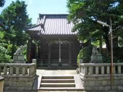 八坂大神社殿