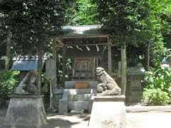 境内社石上神社地神社金毘羅社
