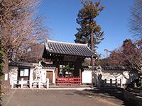 西蔵寺山門