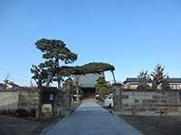 長弘寺山門