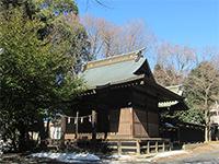 汁守神社社殿