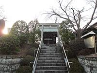 武蔵御嶽神社細山分社鳥居