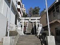 宮前平八幡神社鳥居