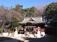 馬絹神社拝殿