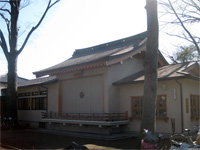 上丸子日枝神社神楽殿