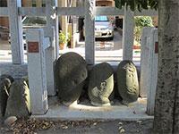 井田神社力石
