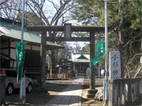 小杉神社鳥居