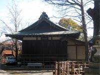 小杉神社神楽殿