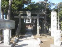 大戸神社鳥居