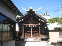 三社宮拝殿