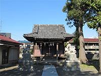 関神社拝殿