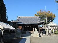 新城神社拝殿