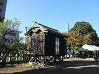 新城神社神輿庫