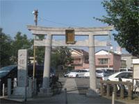 中島八幡神社鳥居