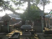 中島八幡神社神明社と厳島社