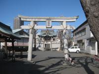 塚越御嶽神社鳥居
