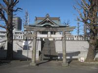 塚越御嶽神社二鳥居