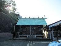 千年神社拝殿