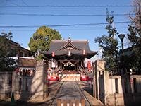 溝口神社拝殿