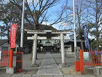中野島稲荷神社鳥居