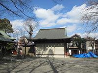 中野島稲荷神社神楽殿