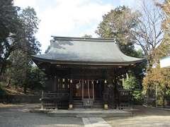 子之神社拝殿