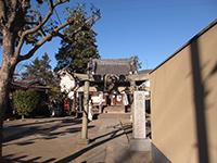 堰稲荷神社鳥居