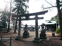 西生田杉山社鳥居