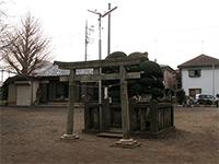 西生田杉山社境内社