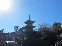 明鏡寺三重塔